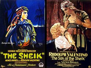 Afiches de los filmes El Caid y El hijo del Caid