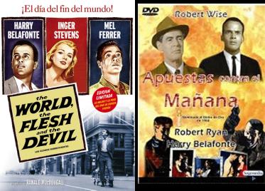 Afiches de películas protagonizadas por Harry Belafonte
