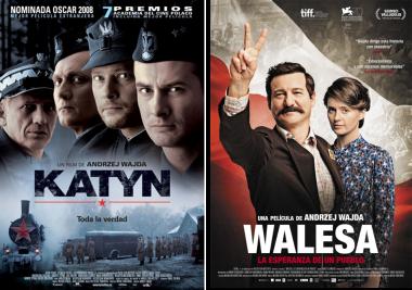 Afiches Katyn, y Walesa, la esperanza de un pueblo