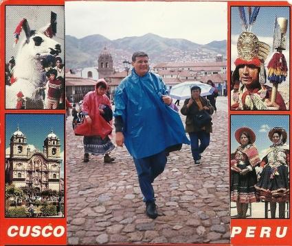 El autor en el Cusco
