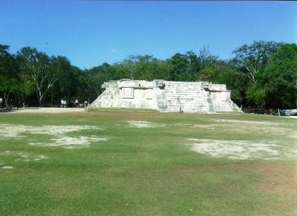 Plataforma de los jaguares y águilas, Chichen Itza