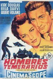 Afiche Hombres temerarios (1955)