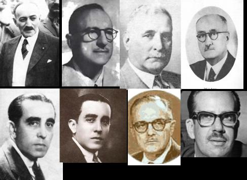 Otros presidentesCarlos M. de Céspedes y Quesada, Carlos Hevia, Mendieta, José Barnet, Miguel Mariano Gómez, Laredo Bru, Urrutia Lleó, Dorticós Torrado