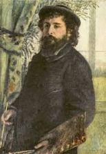 Retrato Claude Monet de Pierre Auguste Renoir