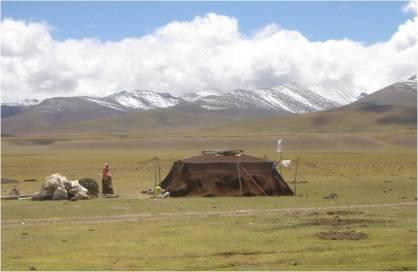 agricultura nomada en Mongolia