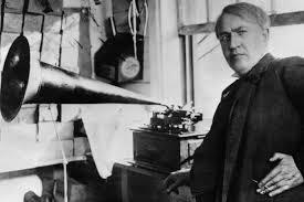 Edison y el fonógrafo