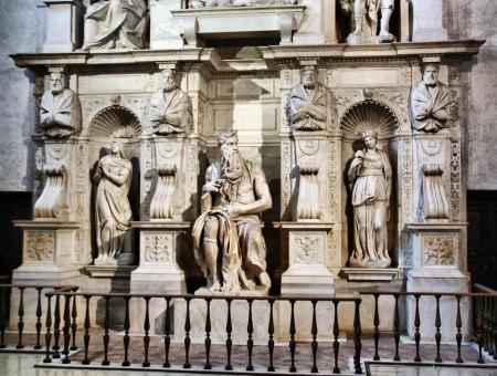 El Moisés en San-Pietro in Vincoli