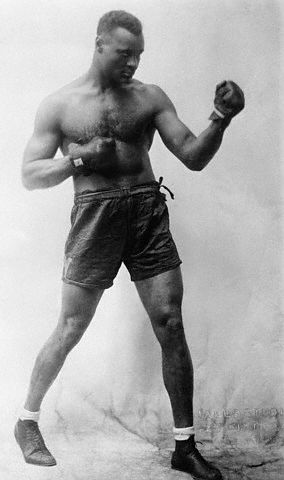 Harry Wills in Fighting Pose