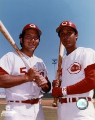 Johnny Bench y Tany Pérez