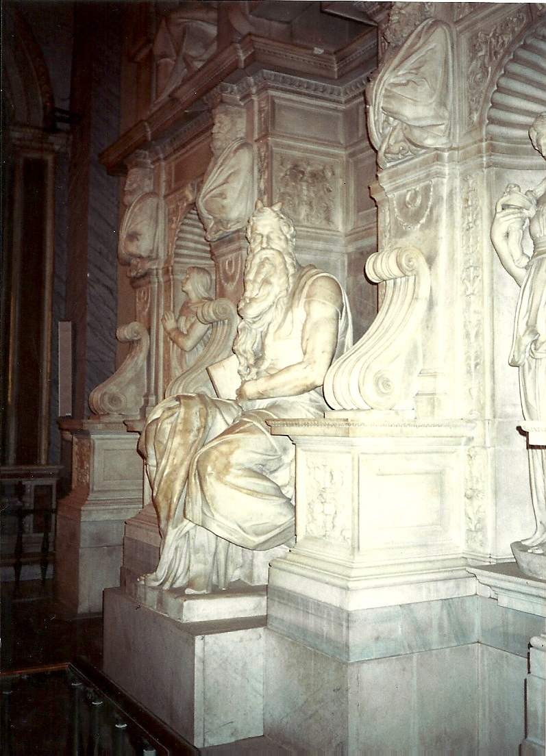 Moisés en San Pietro in Vincoli