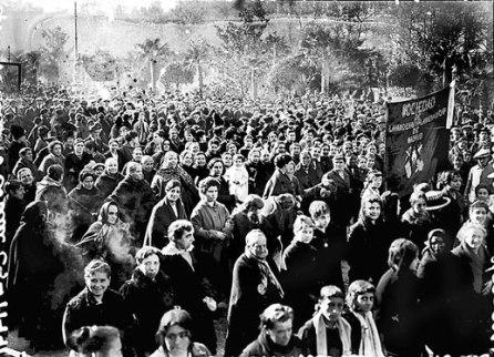 Primera celebración del 8 de marzo en 1914