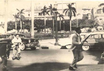 Una fotografía del ataque al Palacio presidencial