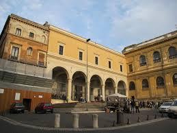 Vista de la entrada de San Pietro in Vincoli