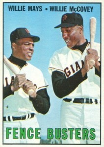Willie Mays-Willie McCovey (z)