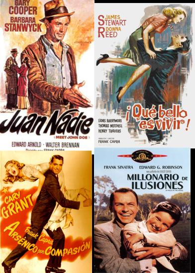 Afiches de cuatro éxitos más de Frank Capra