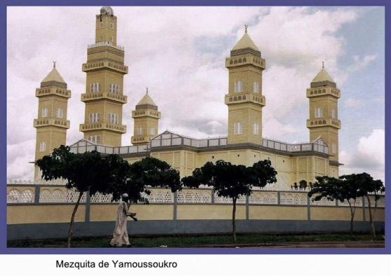 Gran Mezquita de la Paz en Yamusukró