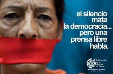 El silencio mata la democracia