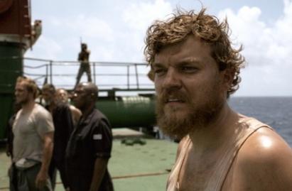 Pilou Asbæk, el cocinero del navío y personaje principal del filme Secuestro (2012)