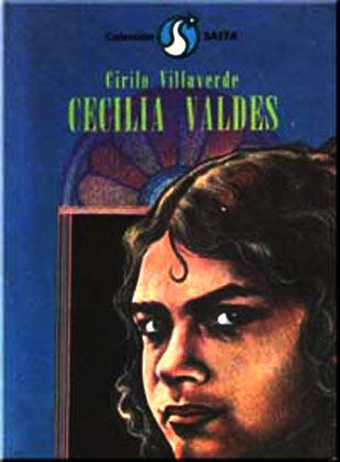 Portada de la novela Cecilia Valdés, edición cubana
