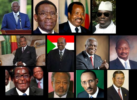 Presidentes longevos