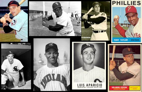 Ellos fueron los primeros Carraquel, Miñoso, Beto Ávila, Tony Taylor, S. Consuegra, Vic Pellot Power, Aparicio y Cepeda