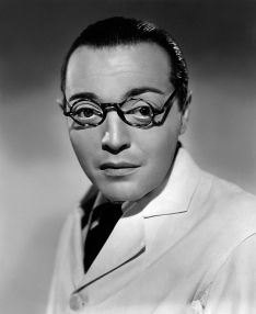 Peter Lorre en el papel de Mr. Moto