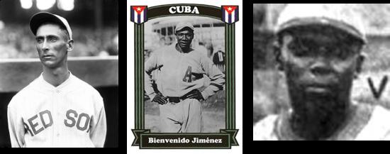 Ramón Herrera, Bienvenido Jiménez y Manuel Villa