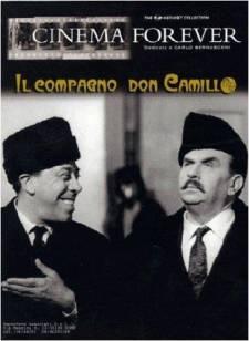 """Afiche de """"El camarada Don Camilo"""" filme dirigido por Luigi Comencini"""