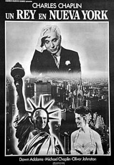 """Afiche de """"Un Rey en Nueva York (1957)"""""""