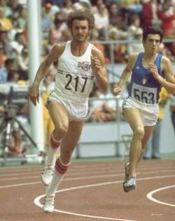 Alberto Juantorena campeón olímpico (Montreal 1976) en 400 y 800 m