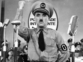 Chaplin en El Gran Dictador (1940)