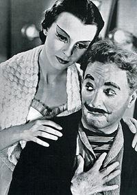 """Claire Bloom y Chaplin en """"Candilejas (1952)"""""""