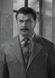 Gino Cervi interpretando a Peppone