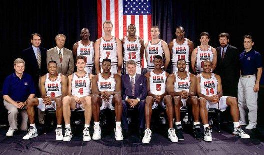 US dream team en baloncesto, Barcelona 1992