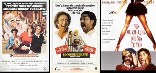 Afiches de películas protagonizadas por Wilder y Richard Pryor.png