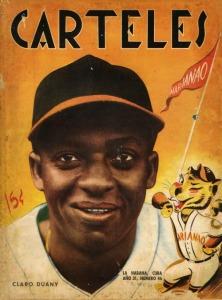 Portada de la Revista Carteles de 1950 con una foto de Claro Duany