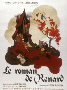 Afiche de Le Roman de Renards