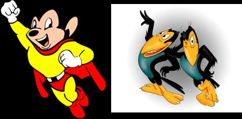 Super Ratón y las Urracas Parlanchinas