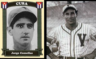 Los abridores del juego: Jorge Comellas y el venezolano Alejandro (Patón) Carrasquel