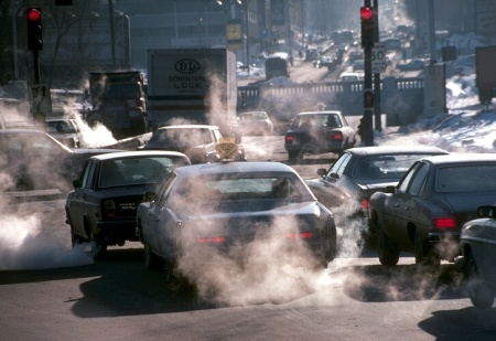 Emision de CO2 por coches