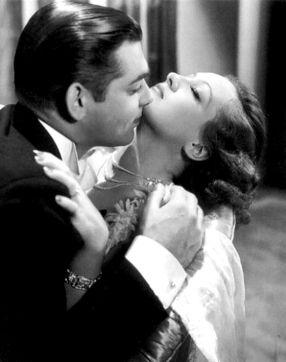 Joan Crawford y Clark Gable en Amor en venta (1931)