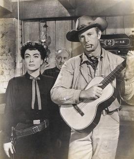 Joan Crawford y Sterling Hayden en Johnny Guitar (1954)