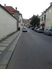 Calle en Hradcany