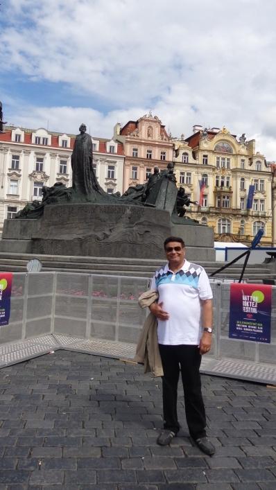 En Monumento a Jan Hus