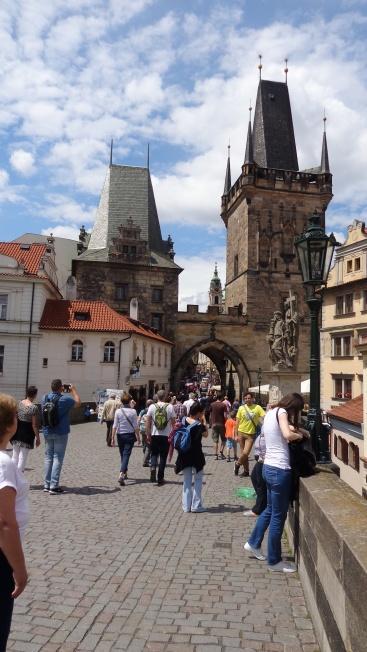 Entrada Malostranska, Praga
