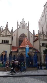 Sinagogas en Praga