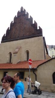 Sinagoga vieja en Praga