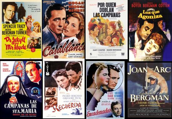 Ingrid Bergman afiche 1