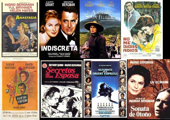 Ingrid Bergman afiche 3
