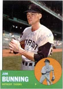 Jim Bunning con los Tigres
